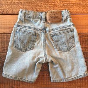 VINTAGE 1970's Levi's Denim Shorts